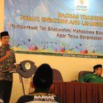 Mahasiswa BAZNAS Belajar Public Speaking