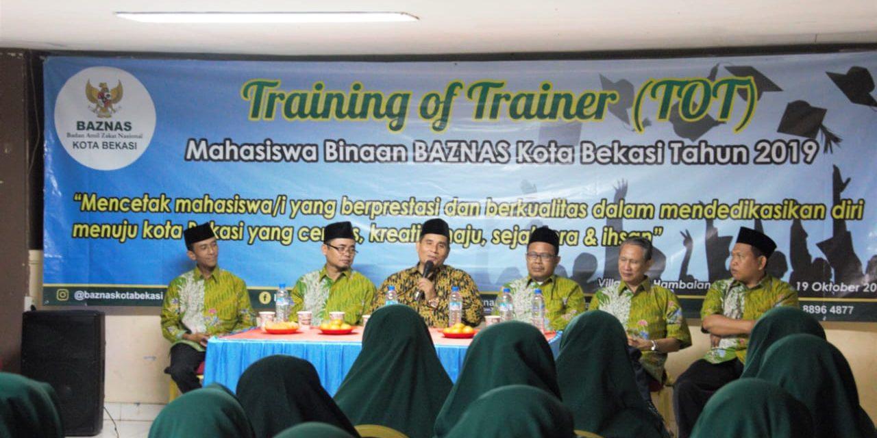 TOT 48 Mahasiswa BAZNAS Kota Bekasi