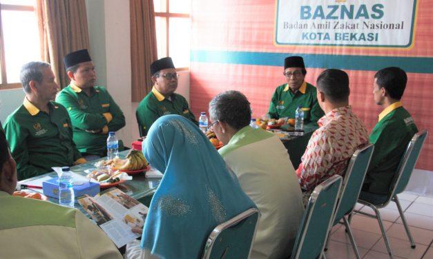 Kunjungan BAZNAS Kota Bogor