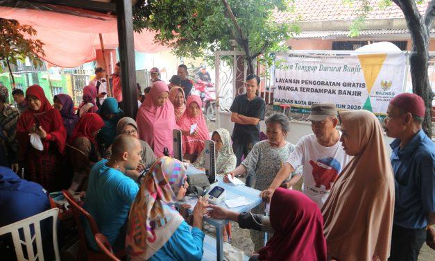 517 Pasien Korban Banjir Dilayani