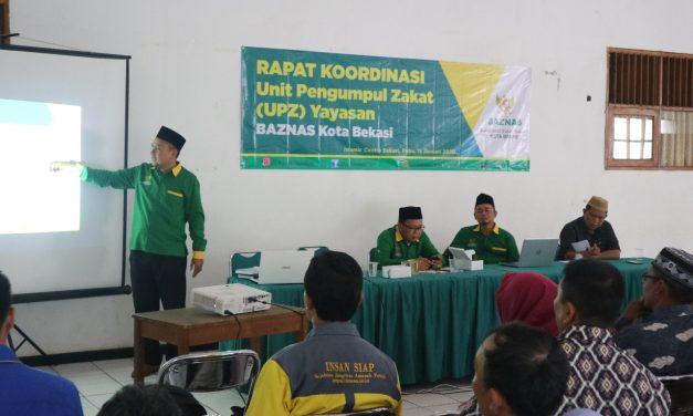 Rakor UPZ Yayasan se-Kota Bekasi